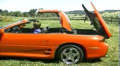 三菱 GTO がオープンになっちゃう 3000GT スパイダー リトラクタブルハードトップの解説動画