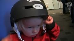 2歳の男の子にインドアスカイダイビンをやらせてみた