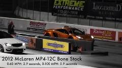 マクラーレン MP4-12C のゼロヨンタイムを測ってみた&雪山ダウンヒルドリフト動画