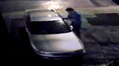 日産 スカイライン GT-R が盗まれる瞬間の動画