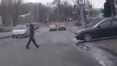 ロシアでは歩行者は絶対です