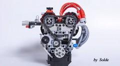 レゴで 4A-GE を作ってみた