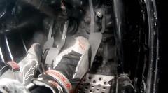 マッド・マイク 4ローター RX-7のドリフトペダルワーク動画