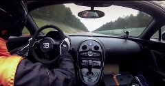 オープンで408km/h!世界一速いオープンカー ブガッティ ヴェイロン グランスポーツ ヴィテッセ の世界記録達成動画