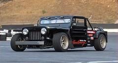 こ、これは!三菱 ジープを車高短ドリフト仕様にしちゃった珍車動画