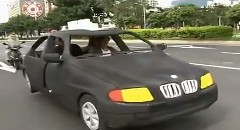 給油も充電もいらない超エコ仕様の BMW を台湾で発見!www