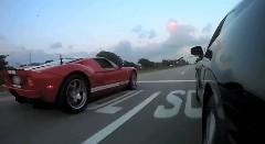 日産 GT-R vs フォードGT 加速対決動画