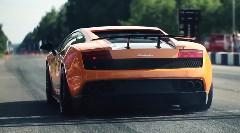 はえー!2005馬力のランボルギーニ ガヤルドが1マイルを21.852秒 426.7km/hで走っちゃう動画