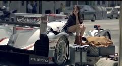 アウディ ルマン優勝車 R18 e-tron quattro を日常で使っちゃう風CM動画
