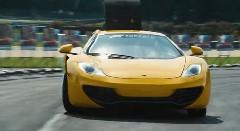 マクラーレンMP4-12Cでゲーム映像を撮影しちゃうForza Motorsport 5のプロモーション動画