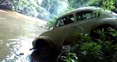 ジャングルをものともしないワイルドなフォルクスワーゲン ビートル