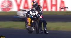 プロバイクレーサーの超絶リカバリー動画