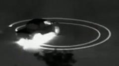 赤外線カメラでバーンアウトを撮影してみた動画