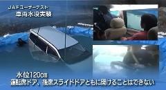 車が水没した時の対処方法がよくわかる動画