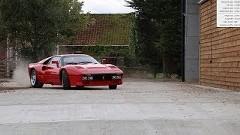 貴重なフェラーリ 288 GTOでラリーカーばりに爆走しちゃう動画