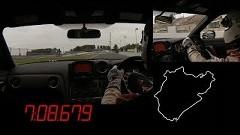 はえー!日産 GT-R ニスモ ニュル7分8秒679 フルオンボード動画