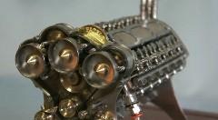 男心をくすぐりまくるW18エンジンの模型がスゴイ!っていう動画