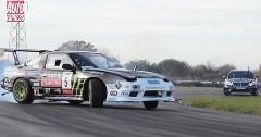 メルセデス S63 AMG を日産 200SXのドリ車と比較してみたドリフト動画