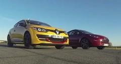 プジョー RCZ R vs ルノー メガーヌRS フランスFF車同士の加速対決動画