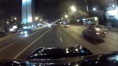 ブラックデビルのポルシェ カイエン ターボ公道200km/h爆走動画