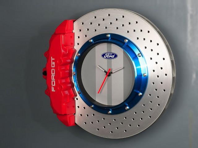 ブレーキ型時計