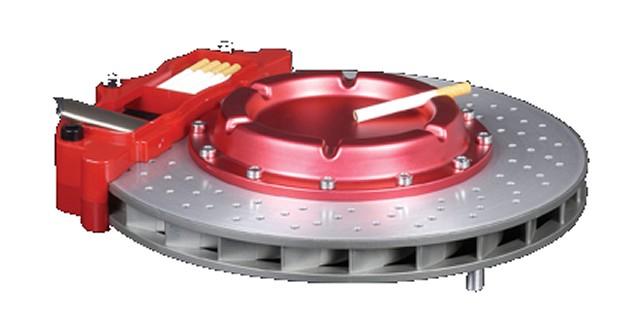 ブレーキ型灰皿