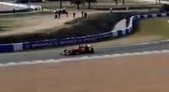 リアルV6サウンドにがっかりしちゃう2014フェラーリF1テスト動画