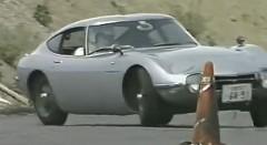 トヨタ 2000GT でジムカーナしちゃう動画