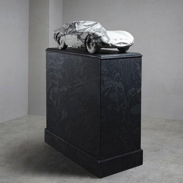 MARBLE FERRARI GTO 1