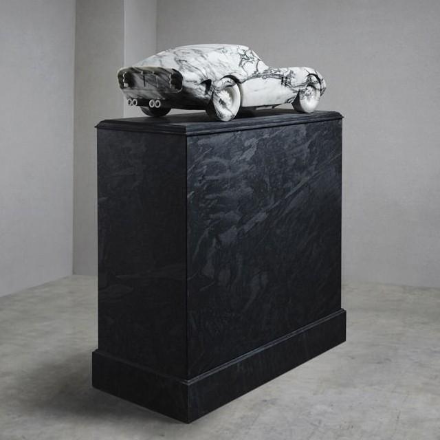 MARBLE FERRARI GTO 2