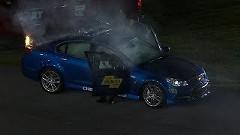 NASCAR のペースカーが出火しちゃう珍アクシデント動画