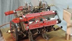 80ccの小さなV8エンジンがカッコイイ動画
