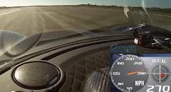 はえー!世界最速ヘネシー ヴェノムGT の435km/hオンボード動画