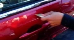 ざけんじゃねー!元彼の車に復讐しちゃう動画