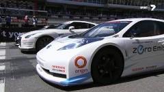 日産 GT-R vs ニスモ リーフ RC vs アルティマV8 市販車とレーシングカーがサーキット対決しちゃう動画