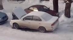 ロシアの暖気方法がわかる動画