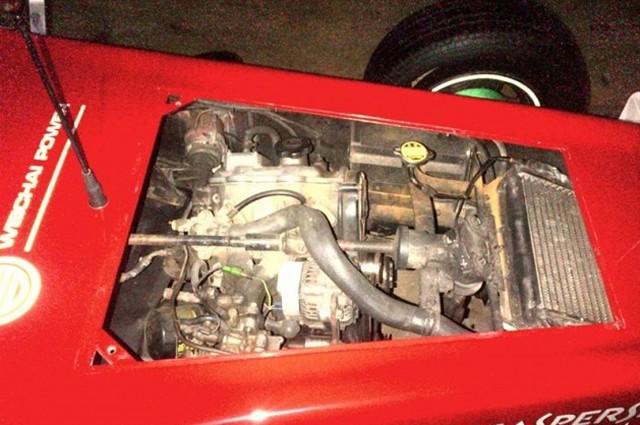 Ferrari F1 Car Replica 3