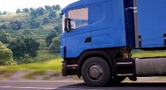 これは本物のトラックではありませんっていう動画
