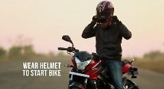 メットをかぶると走り出す、マジで。ちょっと 感動。っていうナイスアイデアのヘルメット動画
