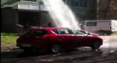おっ!無料の洗車場みいつけた!っていう動画