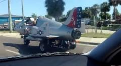 なんだこれwww ジェット戦闘機のような車が公道を走ってる動画