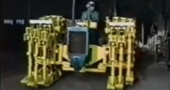 世界の職人達による面白手作り乗り物動画集