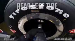 インディカーのピットストップをグーグルグラスで撮影してみた動画