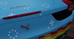 ネズミDJ のフェラーリ 458 はニャン猫ピュラーリ