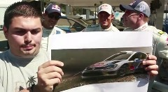フォルクスワーゲンのWRCドライバーに人間エンジン音当てクイズを出してみた