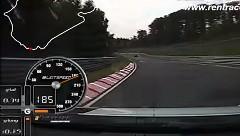 ポルシェ 991 GT3 が快音を響かせながらニュルを走るリングタクシーオンボード動画