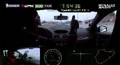 ルノー メガーヌ RS 275 トロフィーR FWDニュル最速 7分54秒36 フルオンボード動画