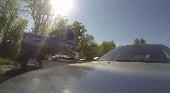 BMW M5 vs 2000馬力以上のチューンドトラック 加速対決動画