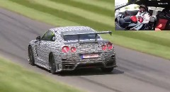 日産 GT-R NISMO がグッドウッドのヒルクライムで49秒27 最速レコード動画