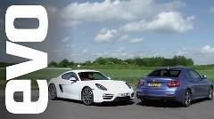 ポルシェ ケイマン vs BMW M235i サーキットタイムトライアル対決動画